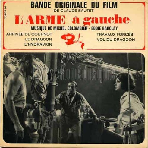 L'ARME A GAUCHE - BOX OFFICE LINO VENTURA 1965