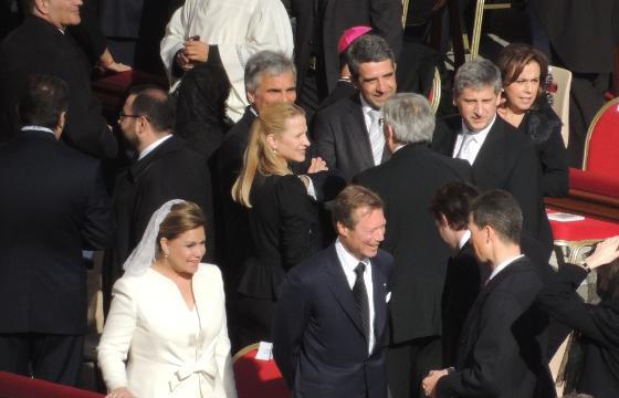 Henri, Felix et Maria Teresa à Rome