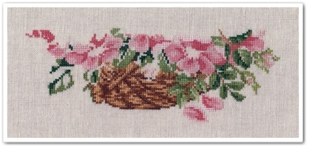 Wild Roses Basket 5