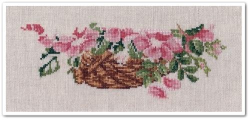 Wild Roses Basket 4