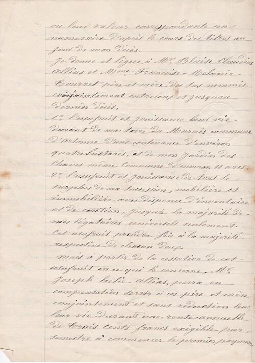 Testament 7/4/1902 - 2