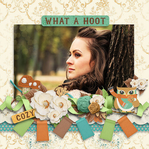 Fall Hoot by dentelle scrap