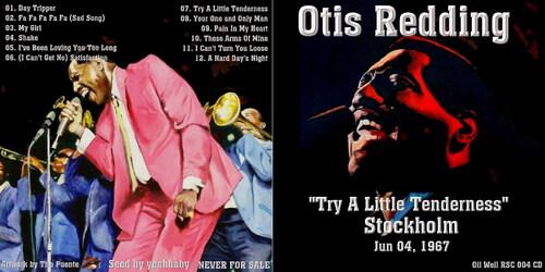 Live: Otis Redding - Stockholm - 4 Juin 1967