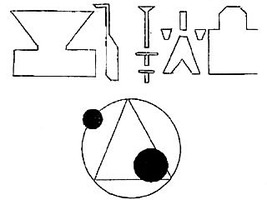 Rendlesham symboles