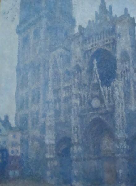Monet (Portail de la cathédrale de Rouen, temps gris) 1894