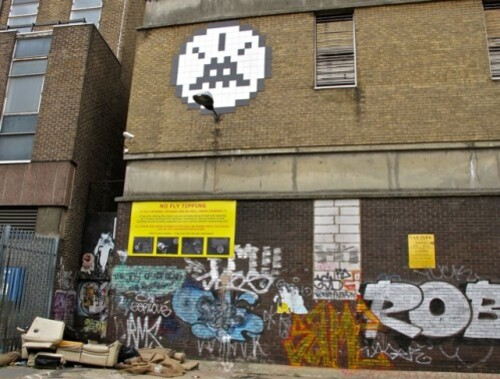 video surveillance Londres street-art 5