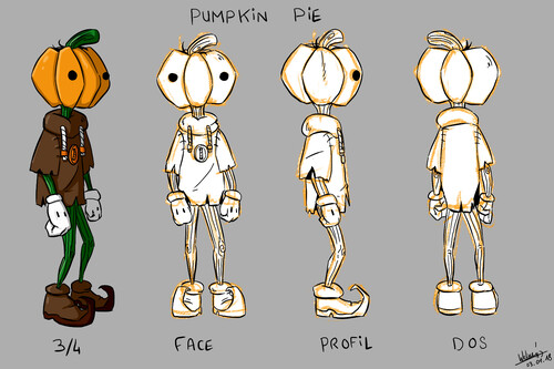 Pumpkin Pie - Tale of N.K