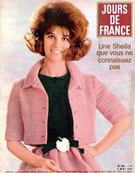 10 Avril 1964, Sheila mannequin Haute-Couture.