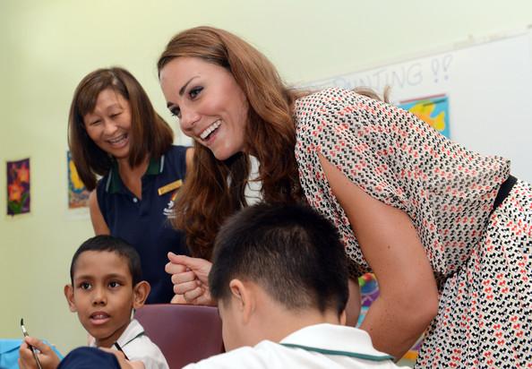 Kate à l'école