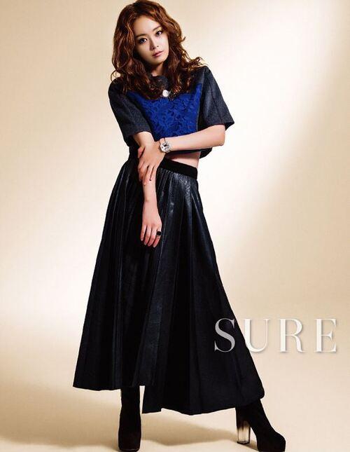 Jun So Min pour Sure