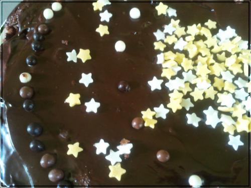 Gateau au chocolat pour la classe de mon frère~
