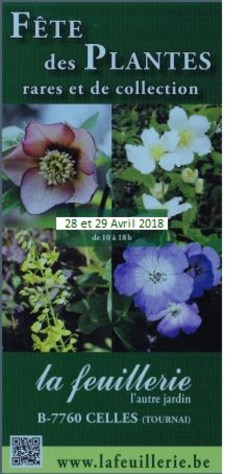 Agenda : les dates jardin à retenir pour le printemps 2018...