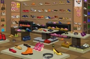 Shoes shop - Hidden objects