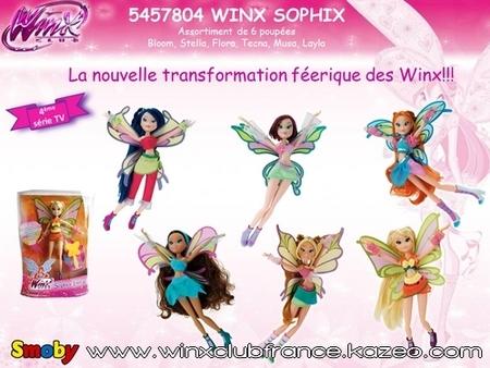 Winx Sophix - Communiqué de presse Smoby