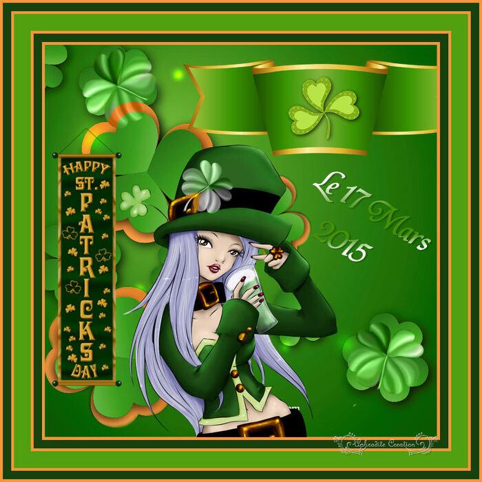 Mes créas perso (2015)- Nous fêtons La Saint Patrick 01