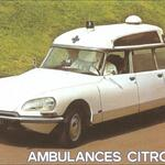 Ambulance Citroën.