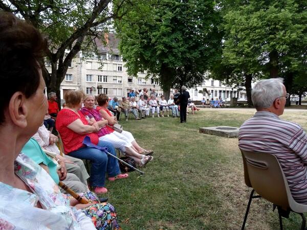 Concert au jardin de la Mairie