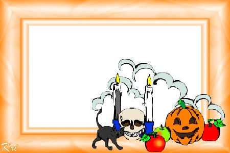 Cadres Vierges pour Halloween ...