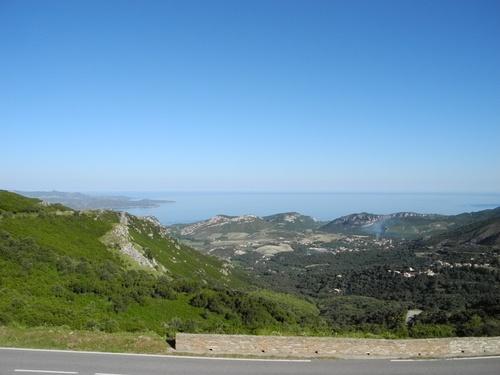 Arrivée à Saint Florent Corse.