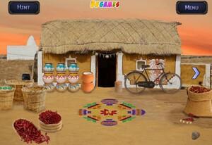 Jouer à Escape game - Beautiful village