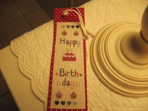 Pour l'anniversaire de ma grande soeur...