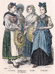 Bourgeois et maraîchères de Colmar