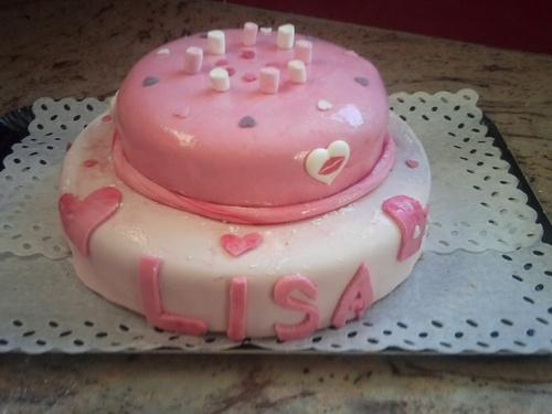 Gâteau double mousse de framboise pour anniversaires ...
