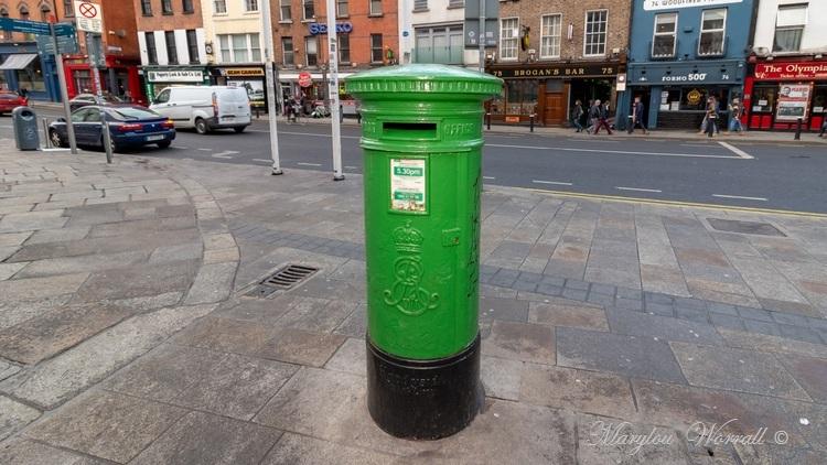 Irlande : La poste