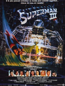 Superman 3 BOX OFFICE FRANCE 1983