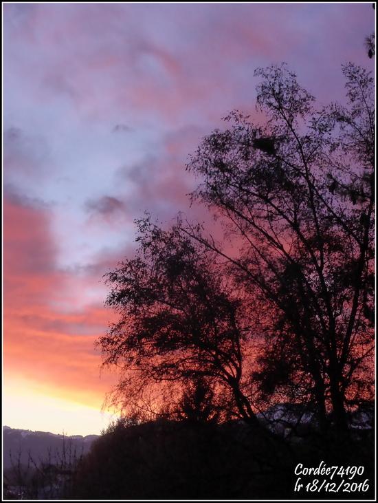 Un peu de couleur....dans mon ciel.