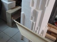 Monts Analogues, sculpture, installation, art, construction, bois, vertige, verticalité, équilibre
