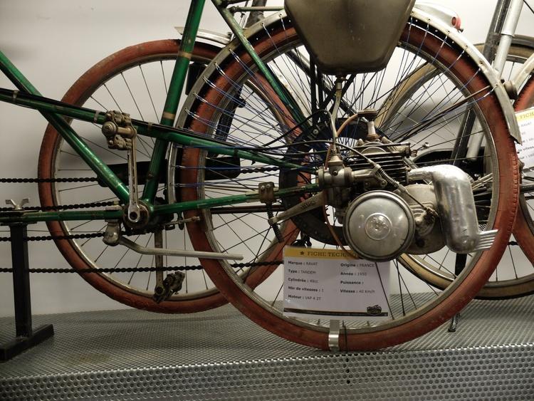 Un vélo pas trop comme les autres .....