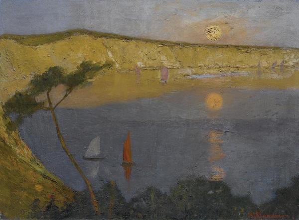 Les pieds dans la mer : paysages marins de la peinture grecque * θαλασσογραφίες