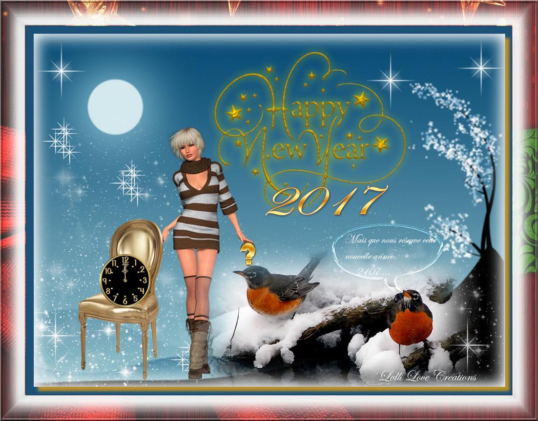 Heureuse année à toi