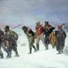 La Retraite des Français en 1812 Tableau d'Illarion Prianichnikov (1874)