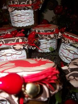 Confitures de Noël