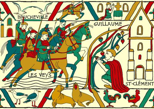La vie de Guillaume le Conquérant (1)