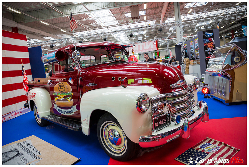 Automédon 2015 - Chevrolet Pick-up Le Fil Rouge Café
