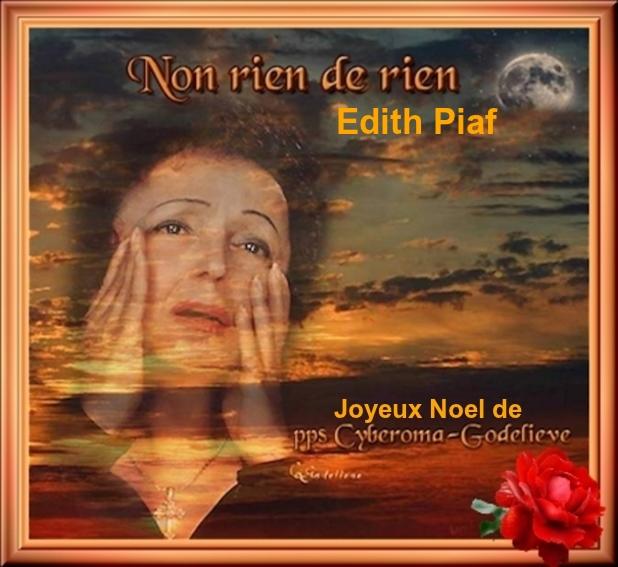 Non, Rien De Rien     Edith Piaf       PPS Par Godelieve