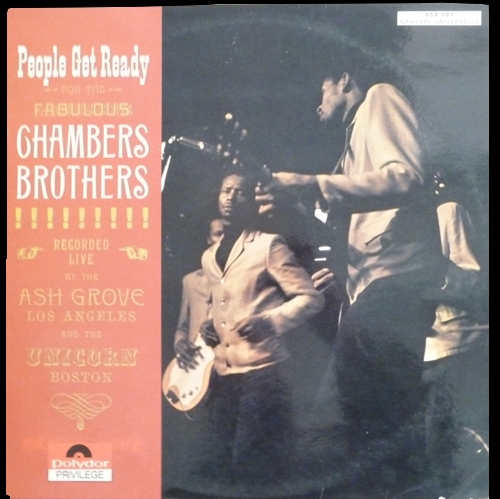 "The Chambers Brothers : Album "" People Get Ready For The Fabulous Chambers Brothers "" Vault Records 9003 [US]"