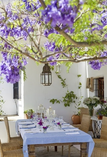 Terrace-Dining-Area-at-Spanish-Country-House-with-Rustic-Sty