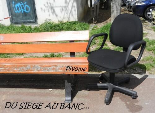 DU SIEGE AU BANC