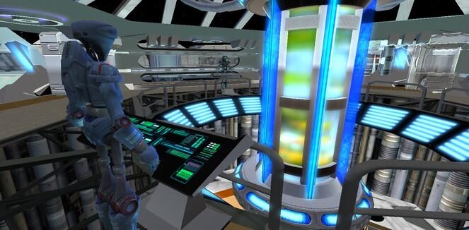 Intérieur d'un vaisseau