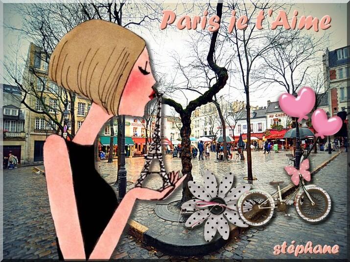 Marjolaine défi ( Paris je t'aime )
