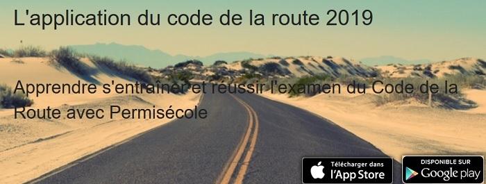 test gratuit code de la route 2019