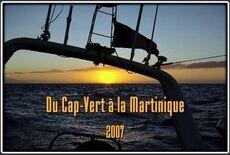 Du Cap Vert à la Martinioque