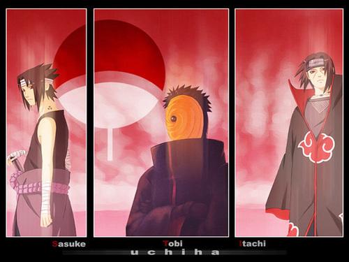 Saasuke,Madara et Itachi