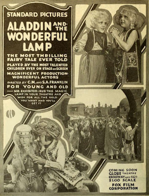 Aladdin and the Wonderful Lamp. 1917.