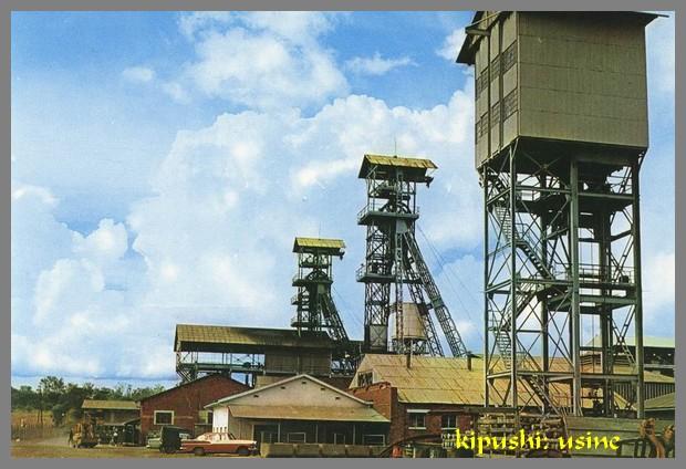 kipushi mine et usine