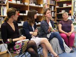 Rencontre avec Geneviève Damas, Aurélia Jane LEE et Mélanie CHAPPUIS.